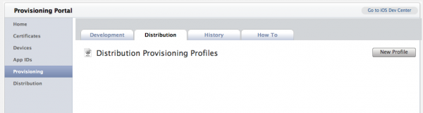 Provisioning Portal 03