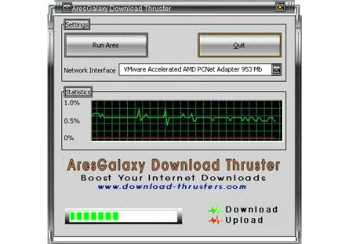 Ares Galaxy Download Thruster