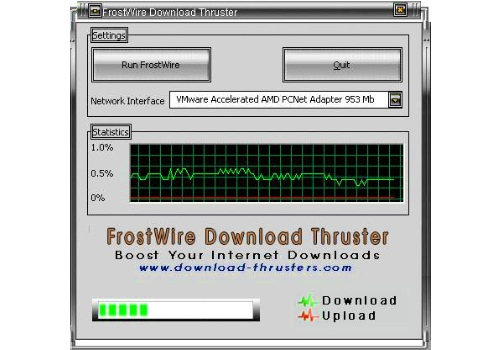 FrostWire Download Thruster