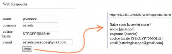 webresponder: test dell'invio dei dati
