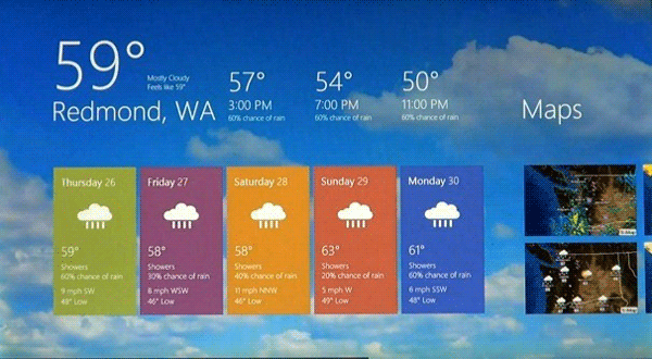 Meteo - Windows Store App