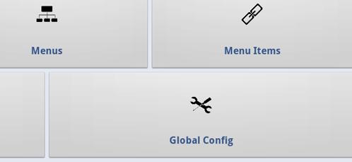 Configurazione globale di Joomla Admin Mobile