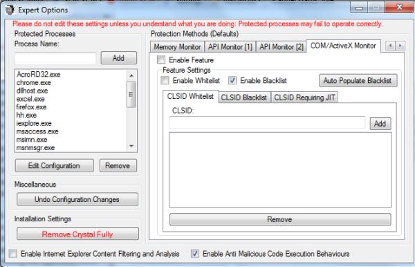 COM/ActiveX Monitor