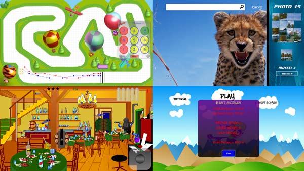 Giochi realizzati dall'autore