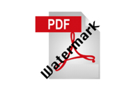 PDF Watermark Creator
