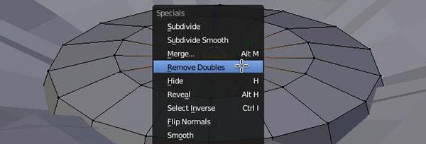 Remove Doubles