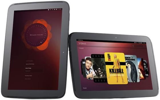 Un prototipo di tablet con Ubuntu (fonte: ubuntu.com)