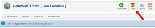 Decompressione del CSV di CeltaWeb Traffic