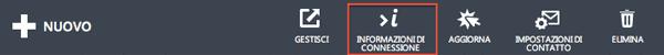 Informazioni account SendGrid