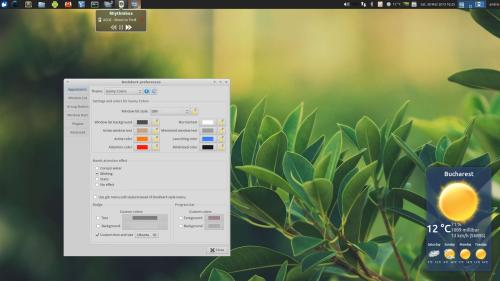 DockbarX sul desktop di Xubuntu 12.04 (fonte: webupd8.org)