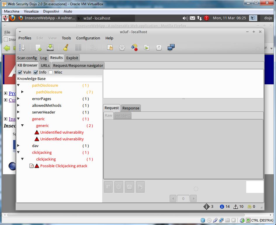 Pentest automatizzato con w3af   HTML it
