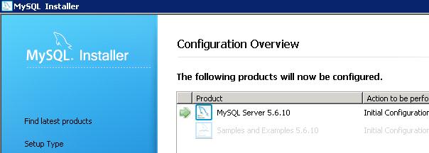 Configurazione iniziale dell'applicazione e dei servizi