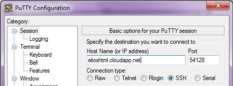 Connessione alla Macchina Virtuale con un client SSH