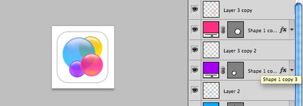 Icona iOS 7 terminata