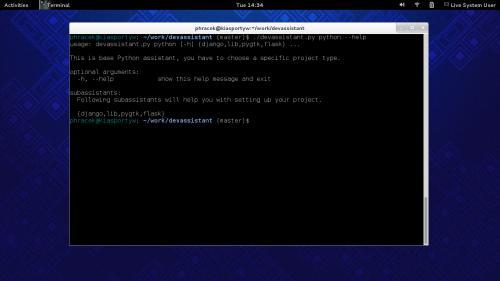 Developer's Assistant su Fedora 19