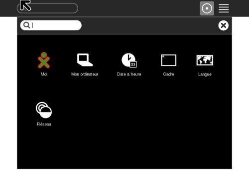 Il desktop di Sugar on a Stick, una delle spin di Fedora, pensata per l'ambito educativo