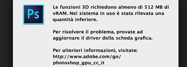 Errore 3D