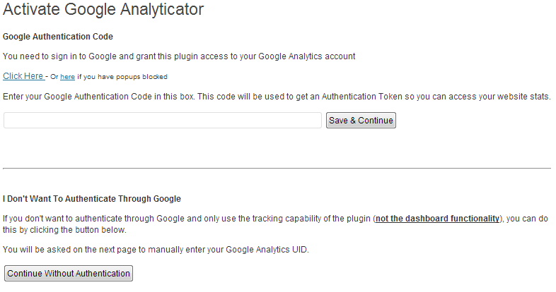 Interazione con le API di Google Analytics