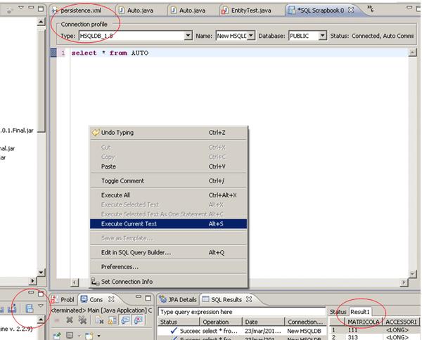 SQL statements, gli elementi principali