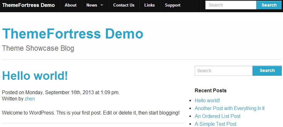 Reverie: front-end per WordPress costruito su Foundation 4