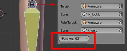 Pole Angle