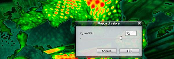 Filtro Mappa di Calore
