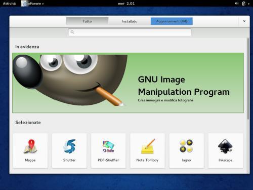 GNOME Software su Fedora 20