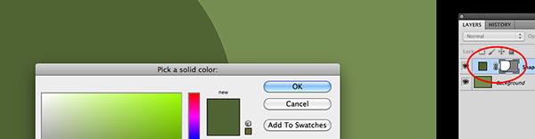 Modifica colore