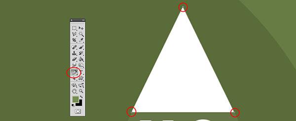 Creazione forma triangoli