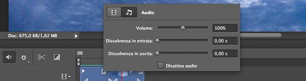 Controlli audio