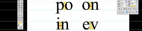 Percezione delle lettere