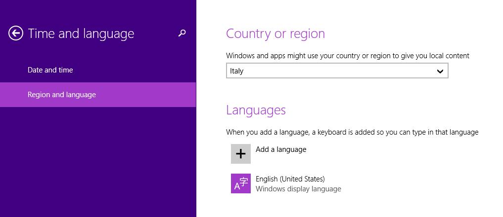 Applicazioni di Windows dating
