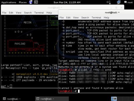 Kali Linux ci mette a disposizione uno spartano GNOME in sessione di fallback