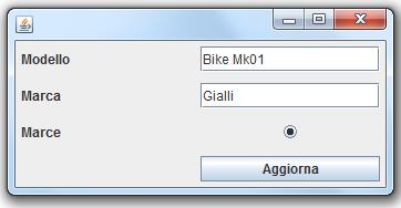 Interfaccia inizializzata automaticamente
