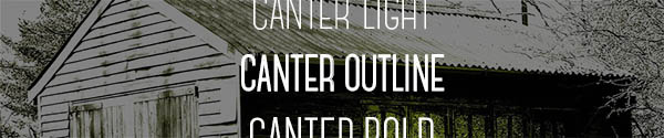 Font Canter