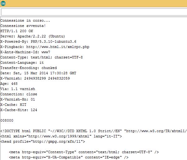 Codice HTML della home page del sito HTML.it