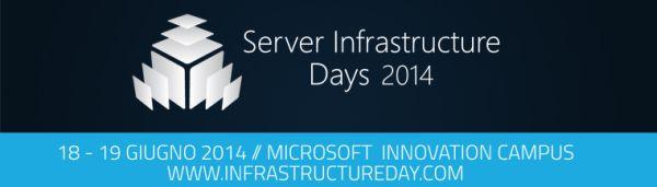 Server Infrastructure Days