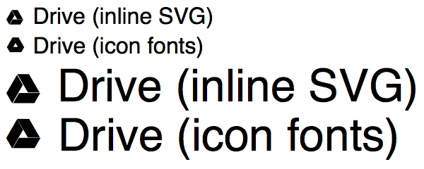 Icon Fonts e Inline SVG a confronto
