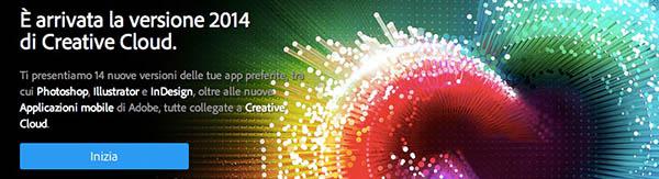 Homepage Creative Cloud