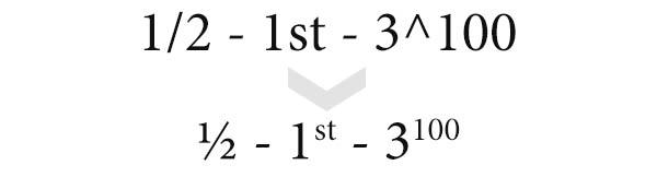 Esempi matematici