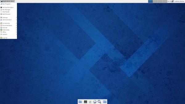 Il desktop di Pidora