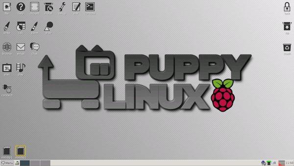 Il desktop di Puppi crockroach