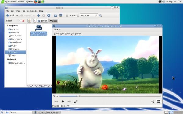 Alcune applicazioni sul desktop MATE di Salix OS 14.1