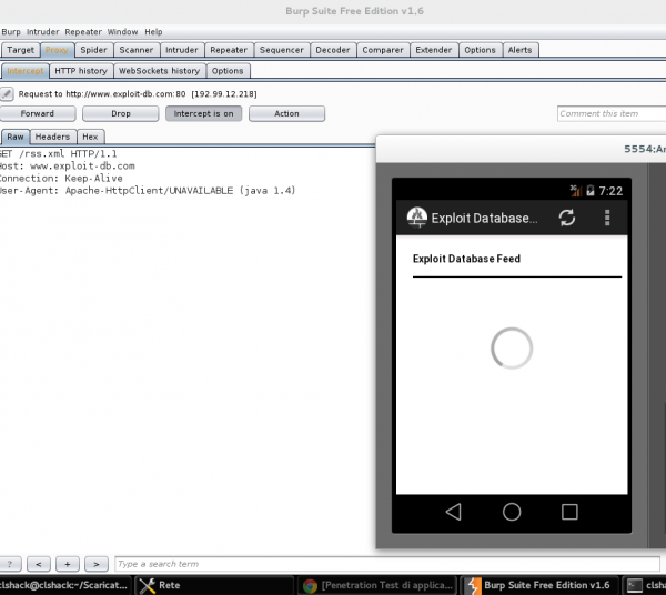 Burp Suite Android