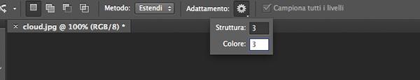 Adattamento colore