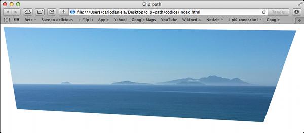 La proprietà clip-path in Safari 7.0.3
