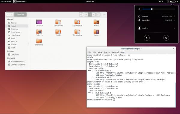 GNOME Shell 3.12 su Ubuntu GNOME 14.10