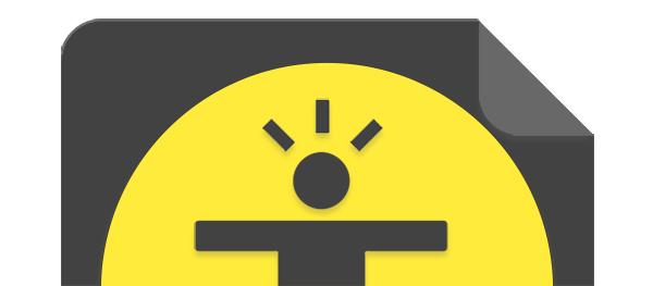 L'icona di HTML.it in versione Material Design