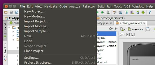 Il supporto alle applicazioni basate su Java Swing su Ubuntu 15.04