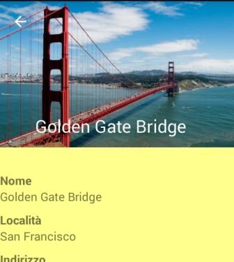 Collapsible Toolbar con immagine di sfondo